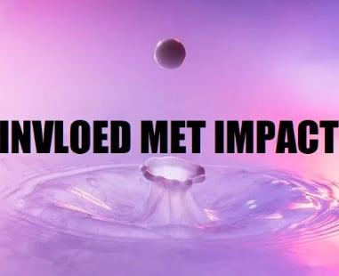 Invloed met impact